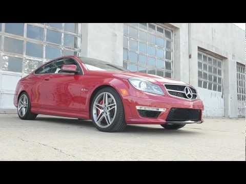2012 Mercedes-Benz C63 AMG Coupe - WINDING ROAD Quick Drive