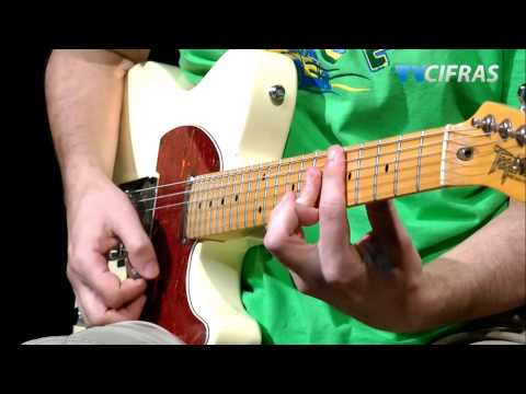 Lenny Kravitz - Fly Away - Aula guitarra - TV Cifras