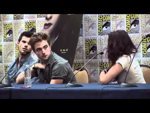 Comic Con 2012 - 'Twilight Saga: Breaking Dawn pt 2' Panel Part 2 of 3