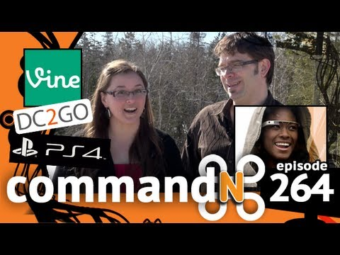 commandN 264: Micro-Video, DC2GO, & PS4
