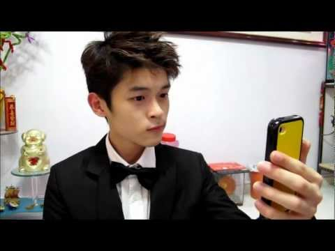 Wavy/Spiky Korean Hair Tutorial - EXO-M Luhan Inspired Hairstyle