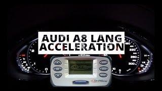 Audi A8 Lang 4.2 TDI 385 KM - acceleration 0-100 km/h