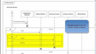 Uml 22 tutorial sequence diagrams with visio 2010 youtube ccuart Choice Image