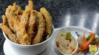 Crispy Fried Green Beans ..