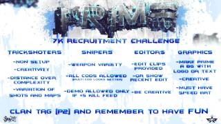 Prime Gaming 7k RC [P2] Clantag, (Ends 30th June)