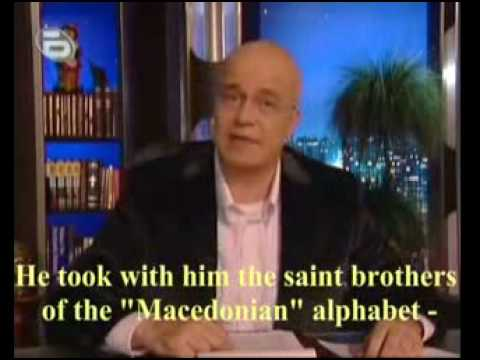Slavi talks about macedonian language and Alexander The Great