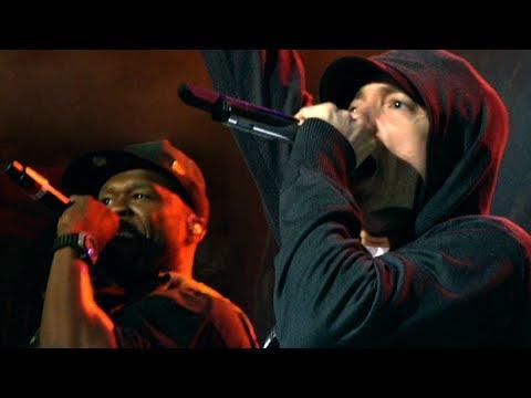 Eminem Surprises 50 Cent Show Live @ SXSW