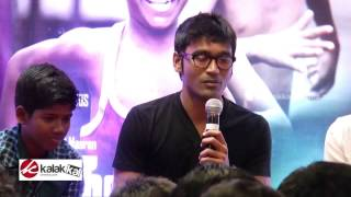 Dhanush at Kaaka Muttai Trailer Launch