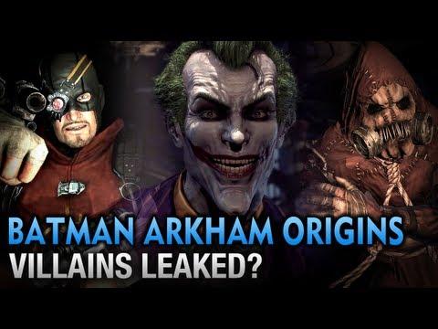 Batman: Arkham Origins - Villains Leaked?