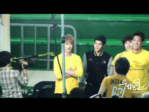 MBLAQ Dream Team, Seung Ho and Chundung chatting