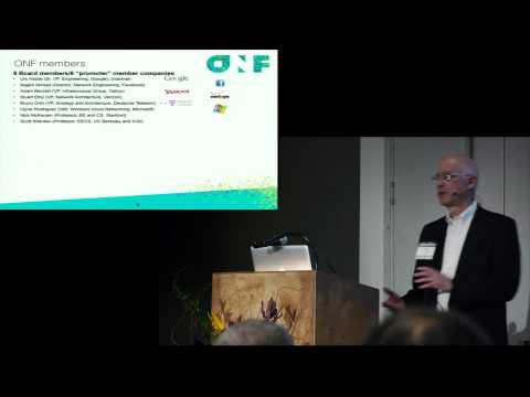 Information on Open Networking Foundation (ONF) - Dan Pitt