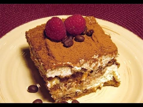 "Tiramisu Recipe / How-to Video - Laura Vitale ""Laura In The Kitchen"" Episode 27"