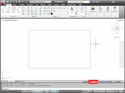 AutoCAD 2012 Drawing Project 8.3 - Arrow Sign