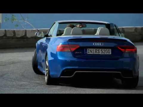 neueste Bilder und Video vom Audi RS5 Cabrio