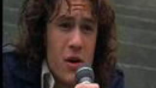heath ledger singing