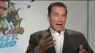 Arnold Schwarzenegger Interview for The Last Stand