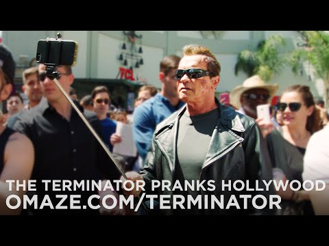 Arnold Pranks Fans as the Terminator...for Charity - UCvyyU4AdijSZFEO7qqXP6kQ