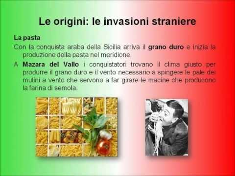 il contributo della gastronomia all'unità d'italia