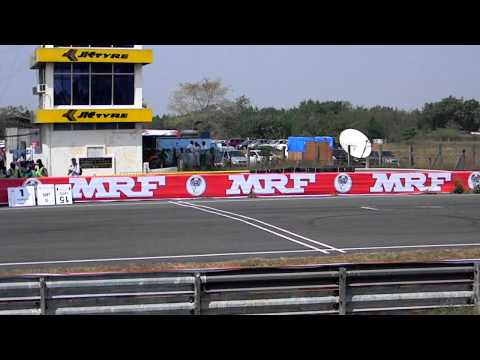 Super bike racing ,MRF Championship 2011