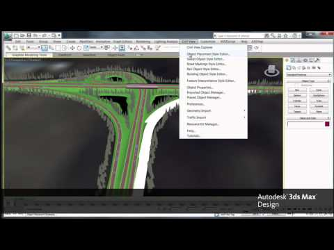 Autodesk Infrastructure Design Suite 2012: Workflow Video (Chapter 2)