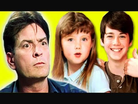 KIDS REACT TO CHARLIE SHEEN INTERVIEW