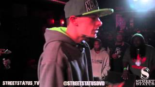 STREET STATUS PRESENTS: PRO CAINE VS 501 BLU