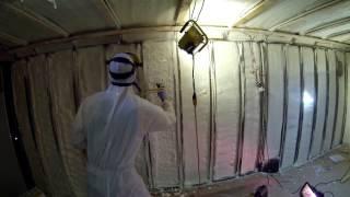 DIY: Spray Foam Cargo Trailer