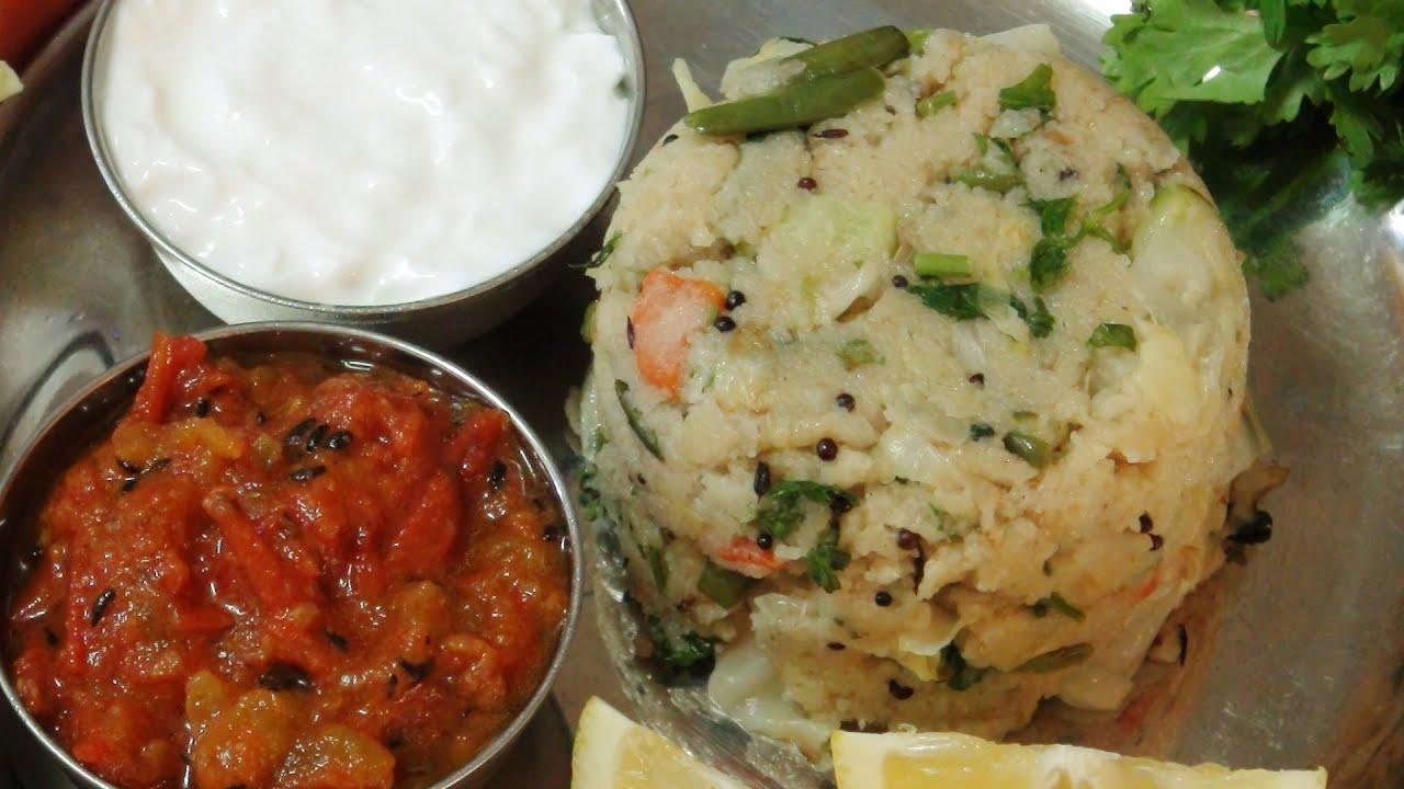 אופמה - תבשיל סולת וירקות הודי: מבשלים עם ונו