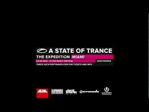 ASOT600 Ultra Music Festival Miami - Special message from Armin