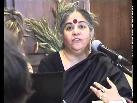 Intervento di Vandana Shiva a Terrafutura 2012