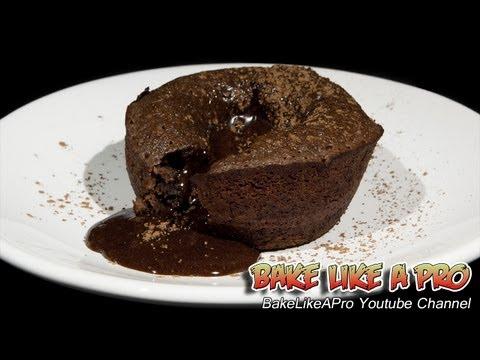 Molten Chocolate Lava Cakes Recipe - Cupcake Tins !