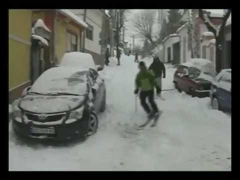 Skijanje na Kališu i Gardošu
