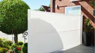 ausziehbarer windschutz terrasse bestseller shop. Black Bedroom Furniture Sets. Home Design Ideas