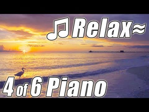 RELAXING PIANO #4 Songs Romantic Music Ocean Instrumental Classical amazing solo HD video 1080p