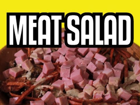 Meat Salad - Epic Meal Time