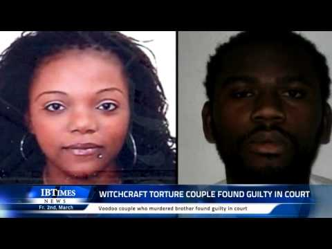 UK couple from the Congo KILL their brother for doing witchcraft!!