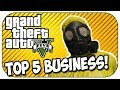 Top 5 MUST OWN Businesses For Making Money in GTA 5 Online! (Episode #90)