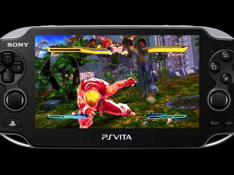 Street Fighter X Tekken Vita gameplay trailer