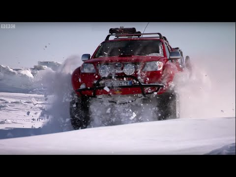Trapped in the Ice Field - Top Gear Polar Special Pt.4 - Now in HD - BBC