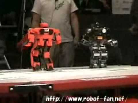 Awesome robot wrestling from Robo-One 2006