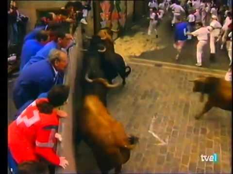 Encierro de San Fermín   10 de julio de 1997