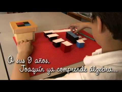 Matemáticas en el Colegio Montessori de Querétaro