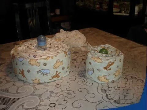 HOW TO MAKE A DIAPER CAKE -wIl--Xg5pz0
