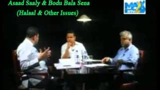 Aasad Saaly & Bodu Bala Sena Discussion Halaal Iss
