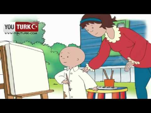 Caillou Türkce - Ressam Caillou