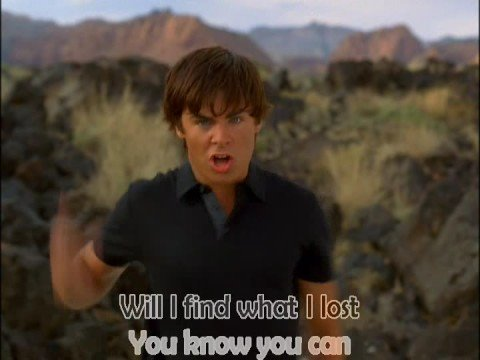 Karaoke - Bet On It -  High School Musical 2