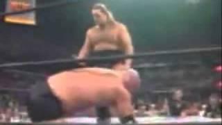 يوتيوب مصارعة جولد بيرج ضد بيج شو