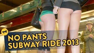 นัดกันใส่กางเกงชั้นในขึ้นรถไฟฟ้า