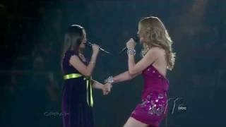 Charice and Celine Dion duet at Madison Square Garden