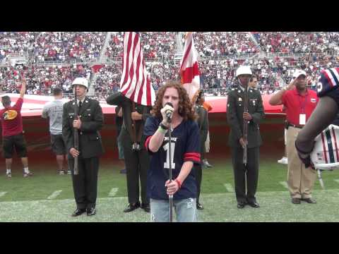 Florida Atlantic University -Brett Loewenstern - Star Spangled Banner 10-15-2011